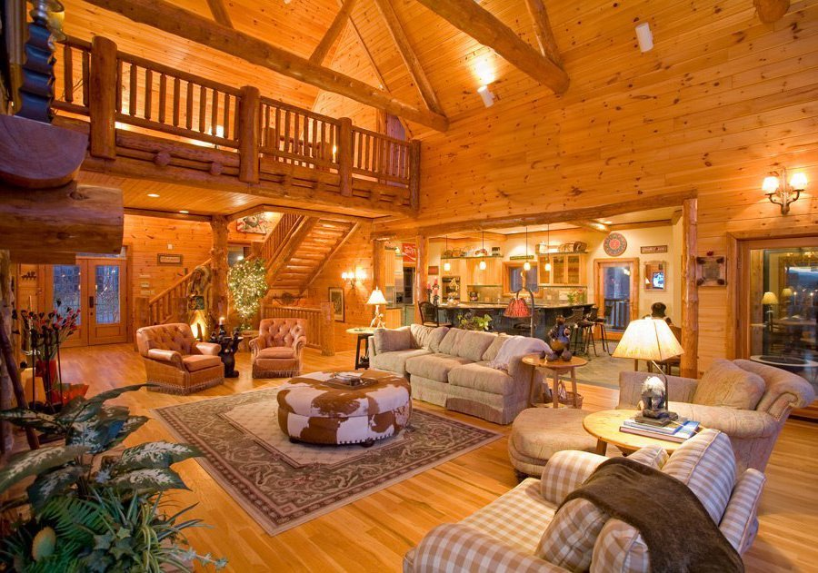 Smoky Mountain Cabins ~ Gatlinburg cabins indoor pool chalet